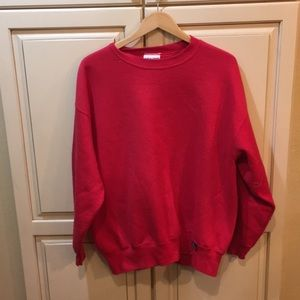Other - Vintage 90s blank crewneck sweatshirt pullover